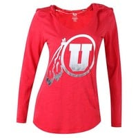 University of Utah Utes Fusion Hooded Long Sleeve