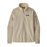 Patagonia W Better Sweater 1/4 Zip P/O