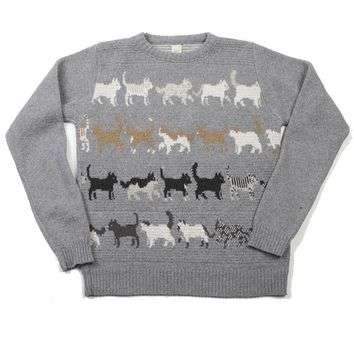 The Perfect Eco Sweater: Knit, Sewn & Made in the USA from Recycled Material: Kitty Sweater