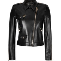 Versace - Leather Biker Style Jacket