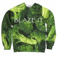Blaze It Broccoli Sweater