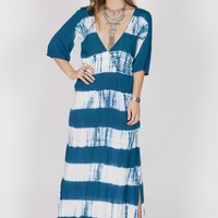 Caribbean Breeze Maxi Dress
