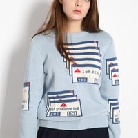 Aliexpress.com : Buy 2015 new fashion winter special cute blue soft thick college wind female o neck sweaters from Reliable sweater stock suppliers on Eyam Fashion | Alibaba Group
