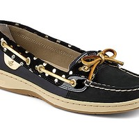 Angelfish Foil Dot Slip-On Boat Shoe