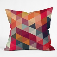 Three Of The Possessed Modele 4 Outdoor Throw Pillow