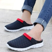 On Sale Stylish Comfort Hot Deal Hot Sale Casual Summer Men's Shoes Beach Shoes Slippers Men Couple Sneakers [6849383747]