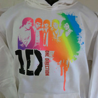 ONE DIRECTION ~Hoodie,Sweatshirt~DRIPPING SILHOUETTE ~SENSATION'S~Boy Band Fan ~