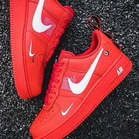 NIKE air force 1 Fashion low-top shoes casual sneakers available for men and women-6