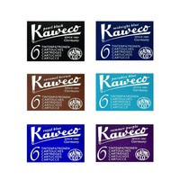 Fountain Pen Ink Cartridges in Various Colors