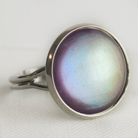 Silver Lining Ring in Silver