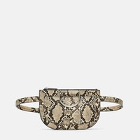 ANIMAL PRINT BELT BAG DETAILS