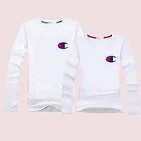 Champion Momen Men Casual Long Sleeve Top Sweater Pullover