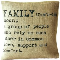 'Family' Cushion Cover