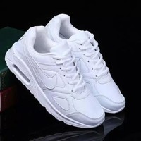 """""""Nike"""" Women Sport Casual Solid Color Air Cushion Sneakers Running Shoes"""