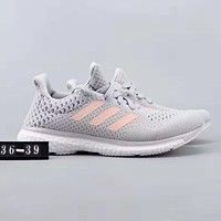 Adidas Ultra Boots Popular Women Men Leisure Breathable Running Sport Shoes Sneakers Grey