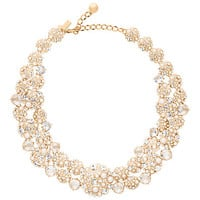 Kate Spade Pick A Pearl Statement Necklace Cream Multi ONE