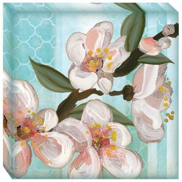 Pear Blossoms 1 Canvas Wall Art (2070) - Illuminada