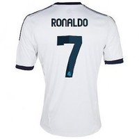 2012-13 Real Madrid Home (Ronaldo 7) Soccer Jersey Size M: Everything Else