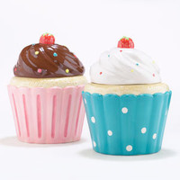 Cupcake Cookie Jars, Set of 2 | Serveware| Kitchen & Dining | World Market