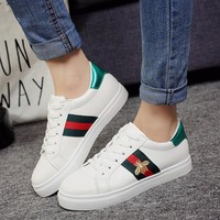 Casual Star Korean Sports Flat Shoes [11877130387]