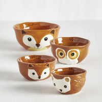 Woodland Creature Bake it Easy Measuring Cups by ModCloth