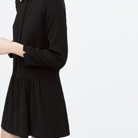 Peter pan collar jumpsuit