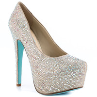 Something Blue By Betsey Johnson - Wish - Champage