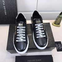 Philipp Plein Men Fashion Casual Sneakers Sport Shoes/Black Size 38-44