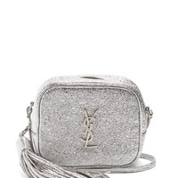 Monogram Blogger crackled-leather cross-body bag | Saint Laurent | MATCHESFASHION.COM US