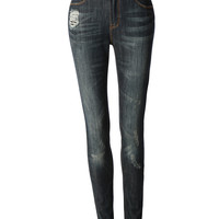 LE3NO Womens Premium High Waisted Skinny Jean Pants with Stretch (CLEARANCE)