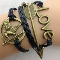 Hunger Games Inspired Wrap Bracelet