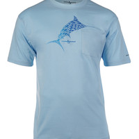 Men's Marlin Mania S/S Pocket UV Fishing T-Shirt