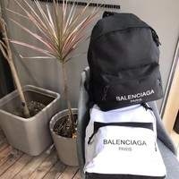 '' Balenciaga '' Casual Sport Laptop Bag Shoulder School Bag Backpack