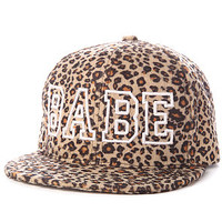 United Couture Snapback Babe Leopard