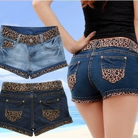 The new women's fashion jeans and denim shorts = 1930227588
