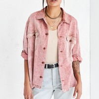 BDG Mia Washed Corduroy Shirt Jacket