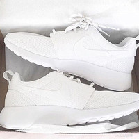 """""""NIKE"""" Trending Fashion Casual Sports Shoes Pure White color"""
