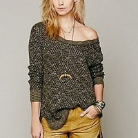 Free People  Honeycomb Mix Pullover at Free People Clothing Boutique