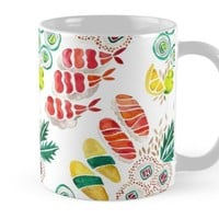 'Sushi Collection' Mug by Cat Coquillette