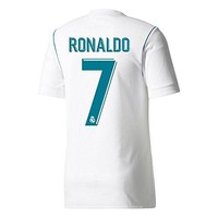 Real Madrid Home Authentic Adizero Ronaldo Jersey 2017 / 2018 (Offical Printing)