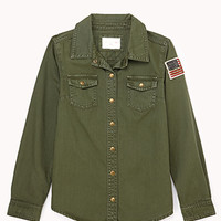Girl-In-Charge Military Shirt (Kids)