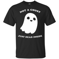 Pastel Goth Shirt Not A Ghost Just Dead Inside