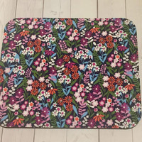 Flowers Mouse Pad mousepad / Mat - Rectangle or round - coworker gift, teacher gift, desk  accessories cubical decor