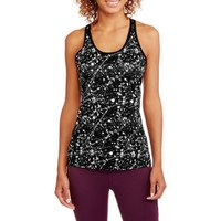 Danskin Now Women's Active 2fer Tank with Mesh Detail and Strappy Bra - Walmart.com