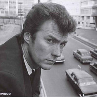 Clint Eastwood London 1960's Poster 24x33