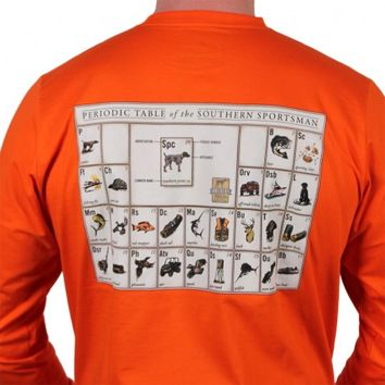 Periodic Table of the Southern Sportsman in Hunter's Orange by Southern Point Co.