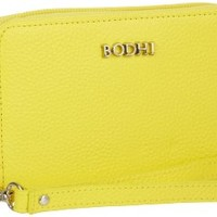 Bodhi Cell Phone Carry-All B2716279EYL Wristlet,Electric Yellow,One Size