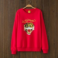 ED HARDY Woman Men Top Sweater Pullover