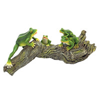 Park Avenue Collection Froggy Business Garden Statue