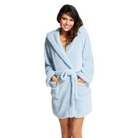 Women's Cozy Robe Light Blue - Xhilaration™